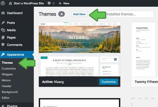 Creating A WordPress Blog