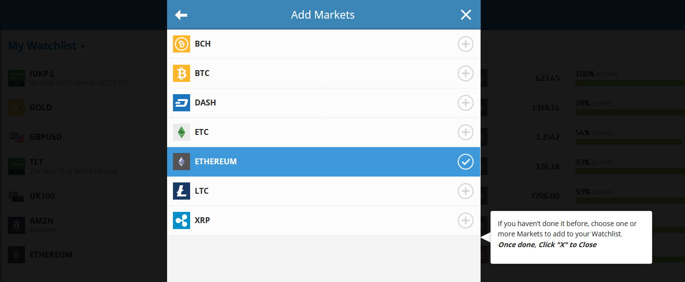 how to use etoro