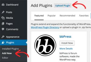 WordPress Plugin Installation