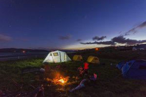 camping-bicycle touring