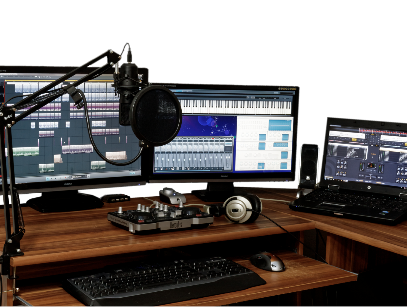 How To Set Up Your Home Studio For Under $400?