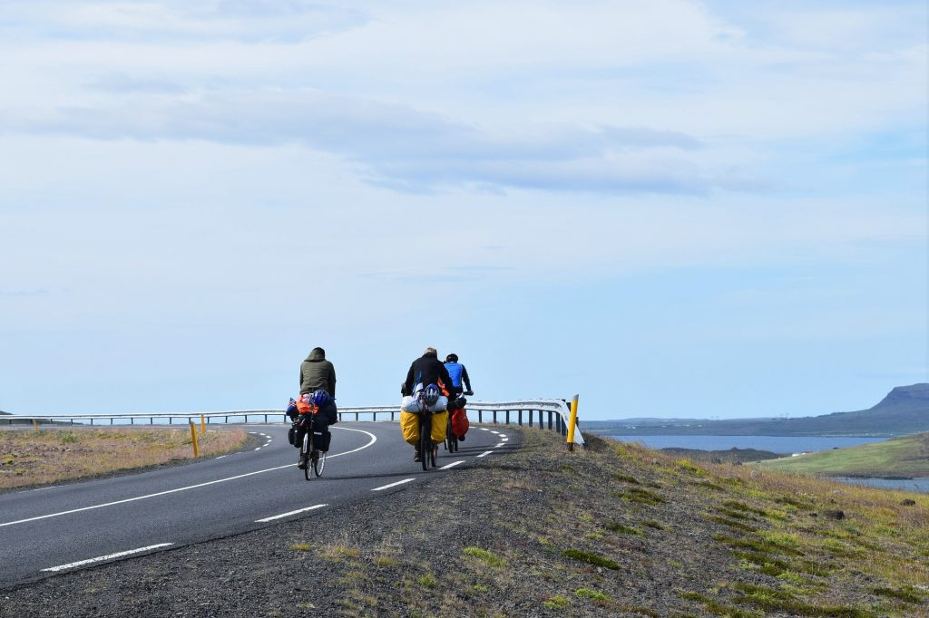 Self-supported bicycle touring